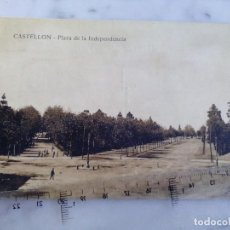 Postales: ANTIGUA TARJETA POSTAL - CASTELLON - PLAZA LA INDEPENDENCIA - EDITORES VIUDA DE F.SEGARRA. Lote 103676971