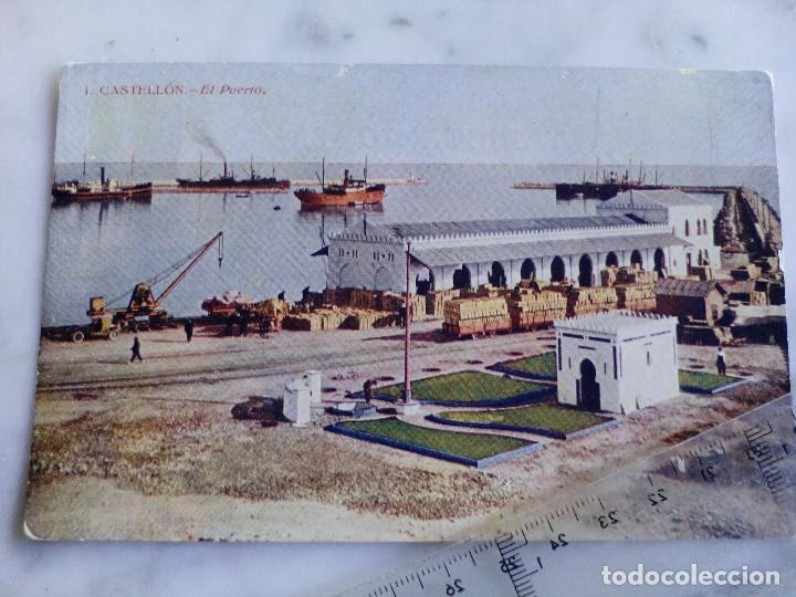 ANTIGUA TARJETA POSTAL Nº 1- CASTELLON - EL PUERTO - EDICION HIJO DE J.ARMENGOT (Postales - España - Comunidad Valenciana Antigua (hasta 1939))