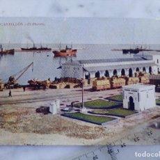 Postales: ANTIGUA TARJETA POSTAL Nº 1- CASTELLON - EL PUERTO - EDICION HIJO DE J.ARMENGOT. Lote 103677651