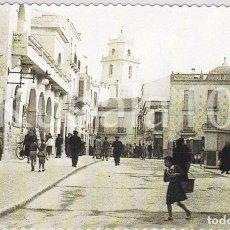 Cartoline: POSTAL CREVILLENTE (ALICANTE) TROQUELADA ·· CALLE BLASCO IBAÑEZ ·· FOTO AGUSTIN. Lote 103780603