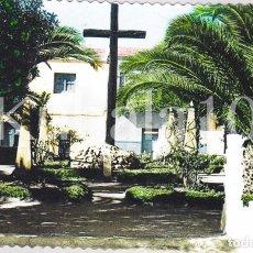 Postales: POSTAL CREVILLENTE (ALICANTE) TROQUELADA COLOREADA ·· CRUZ DE LOS CAIDOS ·· FOTO AGUSTIN. Lote 103780791