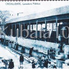 Cartoline: POSTAL CREVILLENTE (ALICANTE) TROQUELADA ·· ANTIGUO LAVADERO PUBLICO ·· FOTO AGUSTIN. Lote 103780819
