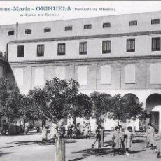 Postales: P- 7828. POSTAL COLEGIO JESUS-MARIA ORIHUELA, Nº 8. PATIO DEL RECREO.. Lote 103921831