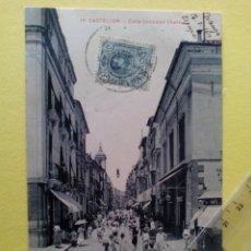 Postales: ANTIGUA POSTAL Nº 16 CASTELLON - CALLE GONZALEZ CHERMA - AD. ANDRES FABERT -. Lote 104167223