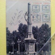 Postales: ANTIGUA POSTAL Nº 2 CASTELLON - EL OBELISCO - AD. ANDRES FABERT -. Lote 104167743