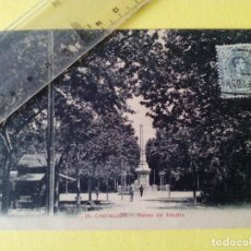 Postales: ANTIGUA POSTAL Nº 25 CASTELLON - PASEO DE RIBALTA - AD. ANDRES FABERT -. Lote 104169699