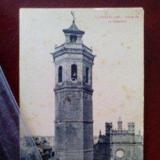 Postales: ANTIGUA POSTAL Nº 11 CASTELLON - TORRE DE LA CATEDRAL - AD. ANDRES FABERT -. Lote 104170859