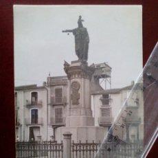 Postales: POSTAL FOTOGRAFICA Nº 451 CASTELLON - MONUMENTO AL REY D.JAIME - AD. ANDRES FABERT -. Lote 104171591