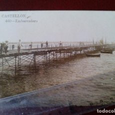 Postales: POSTAL FOTOGRAFICA Nº 460 CASTELLON - EMBARCADERO - AD. ANDRES FABERT -. Lote 104172255