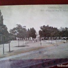 Postales: POSTAL FOTOGRAFICA Nº 461 CASTELLON -PLAZA DEL REY D.JAIME - AD. ANDRES FABERT -. Lote 104172783