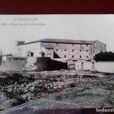 Postales: POSTAL FOTOGRAFICA Nº 465 CASTELLON - CUARTEL DE INFANTERIA SAN FRANCISCO - AD. ANDRES FABERT -. Lote 104173283