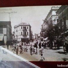 Postales: POSTAL FOTOGRAFICA Nº 448 CASTELLON - LA PUERTA DEL SOL - AD. ANDRES FABERT -. Lote 104173599