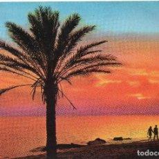 Postales: ALICANTE PUESTA DE SOL. Lote 104285859