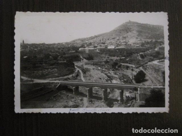ALCORA -CASTELLON - POSTAL ANTIGUA- 1- VISTA GENERAL -COMAS ALDEA -VER REVERSO- (51.036) (Postales - España - Comunidad Valenciana Antigua (hasta 1939))