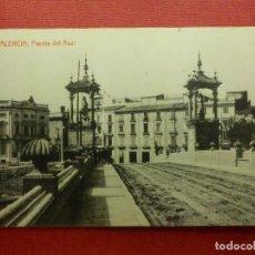 Postales: POSTAL - ESPAÑA - VALENCIA - 108.- PUENTE DEL REAL - THOMAS - 52 - NE - NC. Lote 104438491