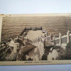 Postales: BENIDORM. BALCÓN MARE NOSTRUM. CIRCULADA 1943 ALICANTE.. Lote 105258744