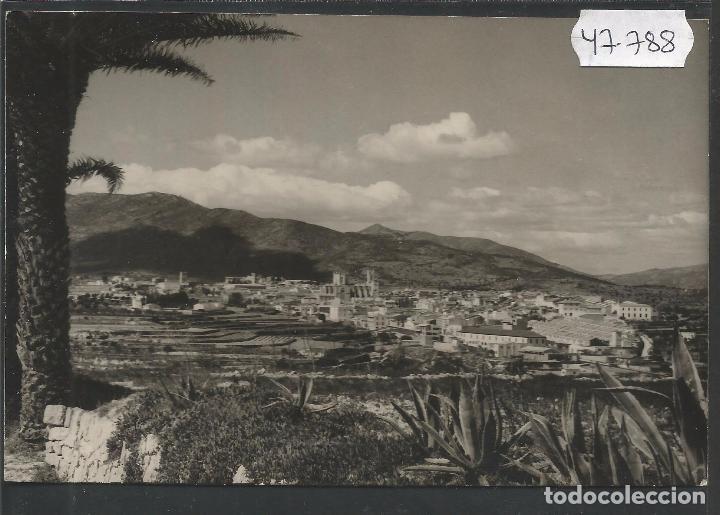 BENISA - FOTOS HERMANOS GALIANA - VER REVERSO -(47.788) (Postales - España - Comunidad Valenciana Antigua (hasta 1939))