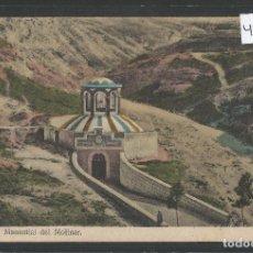 Postales: ALCOY - MANANTIAL DEL MOLINAR - VER REVERSO - (48.109). Lote 105839383