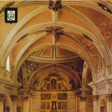 Postales: CASTELLON VILLAFAMES INTERIOR IGLESIA PARROQUIAL POSTAL NO CIRCULADA. Lote 105894451