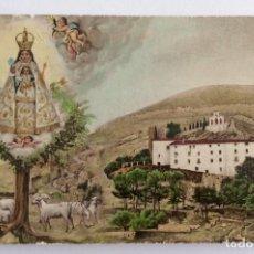 Postales: POSTAL FOTOGRÁFICA COLOREADA. VISTA DEL SANTUARIO DE NTRA. SRA. DE AGRES. ALICANTE.. Lote 105996183