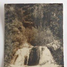 Postales: POSTAL FOTOGRÁFICA. VISTA RÍO ALGAR. CALLOSA DE ENSARRIA. ALICANTE. HNOS. GALIANA.. Lote 105996503