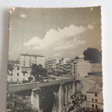 Postales: POSTAL FOTOGRÁFICA. PUENTE DE MARÍA CRISTINA. ALCOY. ALICANTE. JDP.. Lote 105997491