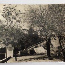 Postales: POSTAL FOTOGRÁFICA. VISTA DEL PASEO DE BORRUNES. JDP 3. BUÑOL. VALENCIA.. Lote 106000875