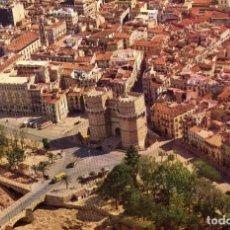 Postales: TORRES DE SERRANO VALENCIA IBERIA AÑO 1962. Lote 106074407