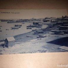 Postales: ANTIGUA POSTAL TORREVIEJA ALICANTE VISTA GENERAL . Lote 107343987