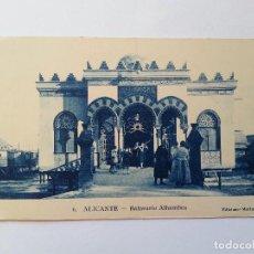 Postales: ALICANTE. RARA- BALNEARIO ALHAMBRA. EDICIONES MARIMON, Nº 6. Lote 107419679
