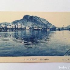 Postales: ALICANTE- EL CASTILLO. EDICIONES MARIMON, Nº 9. Lote 107420183