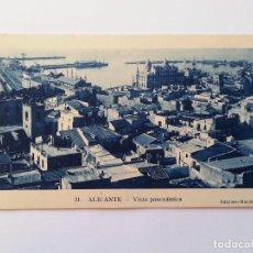 Postales: ALICANTE- VISTA PANORÁMICA. EDICIONES MARIMON, Nº 21. Lote 107420611
