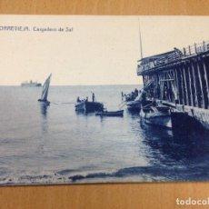 Postales: ANTIGUA POSTAL TORREVIEJA ALICANTE CARGADERO DE SAL DARBLADE. Lote 108081063