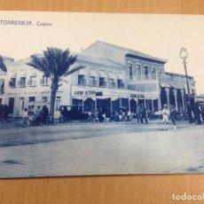 Postales: ANTIGUA POSTAL TORREVIEJA ALICANTE CASINO DARBLADE. Lote 108081307