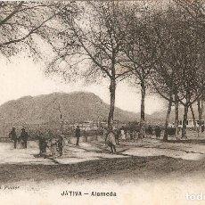 Postales: JÁTIVA - ALAMEDA EDIC. J. VIDAL FUSTER SIN CIRCULAR. Lote 108302803