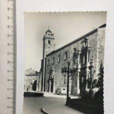 Postales: POSTAL. 7. BURRIANA (CASTELLÓN). IGLESIA PARROQUIAL. ED. DARVI. H. 1950. Lote 111759926