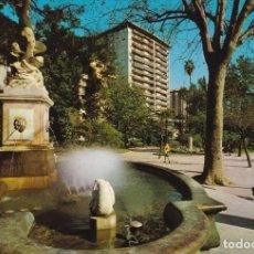 Postales: VALENCIA GLORIETA FUENTE DEL TRITON POSTAL NO CIRCULADA . Lote 109348799