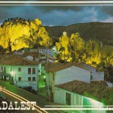 Postales: CASTELL DE GUADALEST VISTA NOCTURNA POSTAL NO CIRCULADA. Lote 109350179
