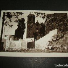 Postales: PEÑISCOLA CASTELLON FACHADA DEL EREMITORIO DE NTRA. SRA. DE LA ERMITAÑA POSTAL FOTOGRAFICA AÑOS 30. Lote 109369899