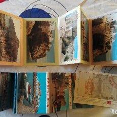 Postales: LOTE DE 22 ANTIGUAS POSTALES DE PEÑISCOLA (VALENCIA) Y ANTIGUA ENTRADA AL CASTILLO. Lote 109479555