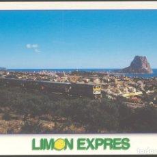Postales: LIMON EXPRES - EXCURSION TREN TURISTICO - BENIDORM.. Lote 109552395