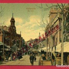 Postales: POSTAL VALENCIA , MERCADO CENTRAL , RARA , ORIGINAL , P88324. Lote 110651271