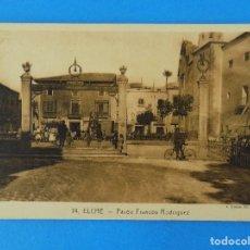 Postales: ANTIGUA POSTAL DE ELCHE (ALICANTE) - PASEO FRANCOS RODRIGUEZ - FOTO ROISIN - . R-8209. Lote 110723927