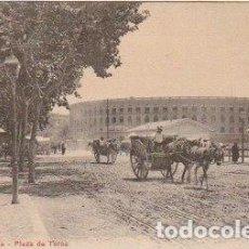 Postales: POSTAL VALENCIA PLAZA DE TOROS CIRCULADA DE MADRID A FRANCIA EN 1910 - -C-19. Lote 111493635