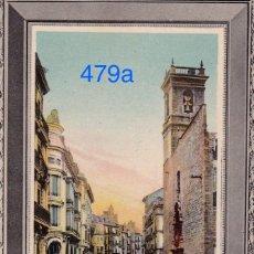 Postales: VALENCIA. CALLE DE SAN VICENTE. IMAGEN ENMARCADA. Lote 111706543