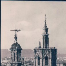 Postales: POSTAL VALENCIA 631- TORRES DE SANTA CATALINA Y MIGUELETE - FOTO PENFEL - CIRCULADA. Lote 111787951