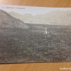Postales: ANTIGUA POSTAL ORIHUELA ALICANTE EL PALMERAL FOTOGRAFIA ANDRES FABERT. Lote 112252039