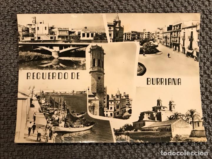 BURRIANA (CASTELLÓN). POSTAL NO.14. (H.1950?) (Postales - España - Comunidad Valenciana Moderna (desde 1940))