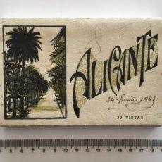 Postales: ALICANTE. 30 VISTAS. L. ROISIN. FOTÓGRAFO. H 1940?. Lote 112503915