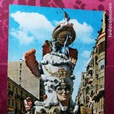 Postales: POSTAL. FALLA FERNANDO EL CATÓLICO. AÑO 1968. FALLAS DE VALENCIA.. Lote 112858255